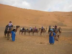 Morocco Desert camel rides Berber Treasures Morocco Tours of Merzouga