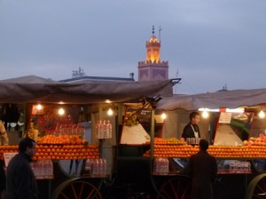 Morocco tours to Marrakech's Djemaa El-Fna