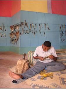 M'gouna Roses Valley Craftsman - Berber Treasures Morocco Tours of Morocco Desert Trips