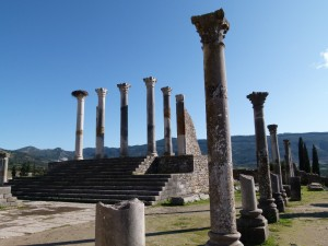 Berber Treasures Morocco tours of Morocco can include Volubilis and Moroccan Roman sites in your Morocco travel plans