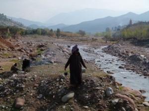 Berber man in Morocco High Atlas Mountains
