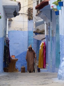 Travel to Chefchaouen on your Berber Treasures Morocco Tours small group tours of Morocco or one of our custom designed private tours of Morocco
