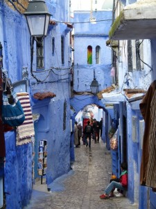 Chefchaouen tours of old medina with Berber Treasures Morocco Tours of Morocco