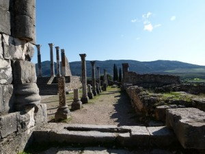 Volubilis tours as you travel to Meknes with Berber Treasures Morocco Tours of Volubilis