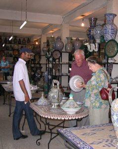 Fez Ceramics 7 © Berber Treasures Morocco Tours of Morocco